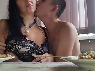 Russian mature mother and boy sex