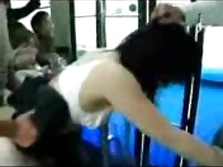 Hot Chinese Teen fucked on bus